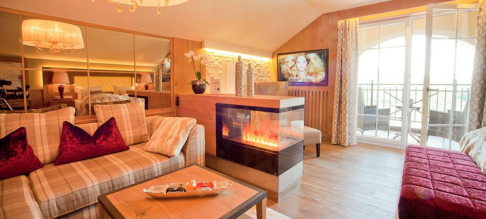 Exklusive Suiten im Wellnesshotel Jagdhof