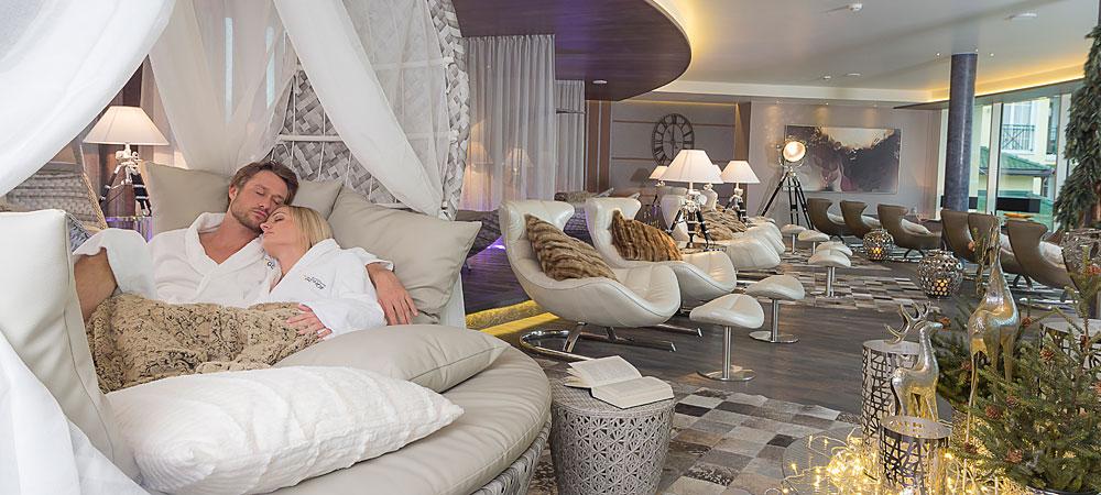 Exklusive Ruheräume im 5-Sterne Wellnesshotel