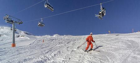 Skipisten in Bayern