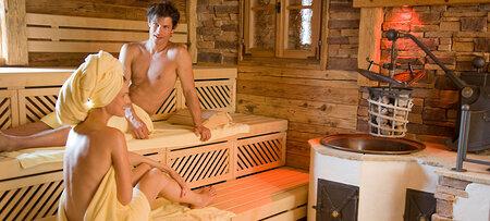 Aussensauna im 5-Sterne Wellnesshotel in Bayern