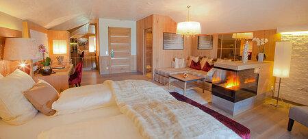 Exklusive Suite im Wellnesshotel Jagdhof